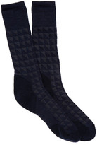 Smartwool Houndstooth Crew Socks - Large