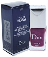 Christian Dior Vernis Couture Color Gel Shine and Long Wear Nail Lacquer, No. 892 Be Dior, 0.33 Ounce