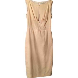 Moschino Ecru Cotton Dresses