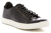Donald J Pliner Prenton Croc Embossed Sneaker