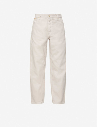 Eytys Benz wide cotton-twill jeans