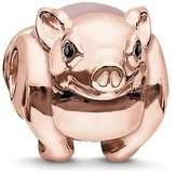 Thomas Sabo Rose Quartz Piglet Karma Bead K0197-417-9