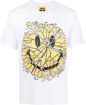 Chinatown Market Glass Smiley cotton T-shirt
