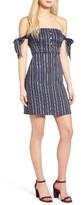 Women's Dee Elle Stripe Off The Shoulder Dress