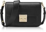 Michael Kors Sloan Editor Large Black Leather Shoulder Bag