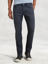 John Varvatos Wight Coated Cotton Jean