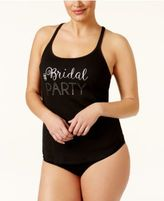 Betsey Johnson Plus Size Bride and Bridal Party Tank Tops
