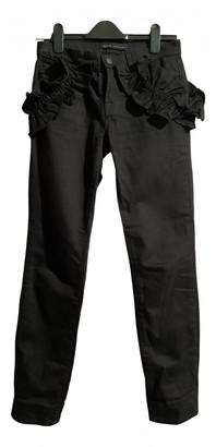 J Brand X Simone Rocha Black Cotton Jeans for Women
