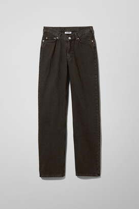 Weekday Twin Denim Trousers - Black