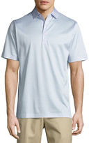 Peter Millar Sean Wheeler Striped Cotton Lisle Polo Shirt