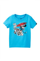 Quiksilver Surf Cat Graphic Tee (Baby Boys)
