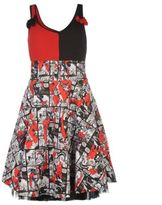 Character Womens Insanity Dress Ladies Pattern Sleeveless Summer Casual Top