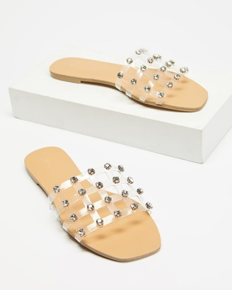 Billini - Women's Neutrals Strappy sandals - Venice - Size 5 at The Iconic