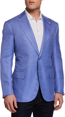 Stefano Ricci Men's Solid Sport Coat Jacket