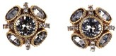 Oscar de la Renta Women's 'Classic Button' Stud Earrings