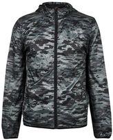 Burton Mens Blend Athletic Black Military Print Zip Hooded Jacket*