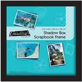 MCS 8x8 Inch Scrapbook Shadowbox Frame, Black (40393)