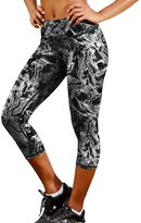 Champion Women's Absolute SmoothTec Printed Capri Workout Tights