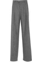 RED Valentino Flannel Wide Leg Trousers