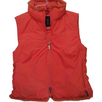 Moncler Sleeveless Orange Polyester Jackets