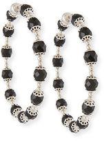 Givenchy Rosario Swarovski® Crystal Hoop Earrings