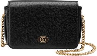 Gucci Leather porte-rouge mini bag