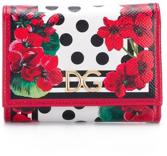Dolce & Gabbana Floral Spot Print Purse