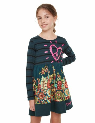 Desigual Girls' Dress PHYSALIS