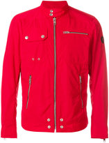 Diesel zipped rain jacket