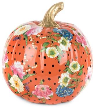 Mackenzie Childs Medium Flower Market Pumpkin