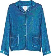 Ashish Sequin-embellished cotton top