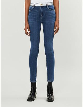 Frame Le High Skinny high-rise jeans