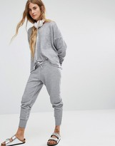 Wildfox Couture Gray Melange Jogger