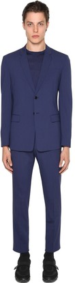 Prada Deconstructive Bi-stretch Wool Suit