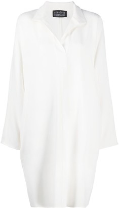 Gianluca Capannolo Classic-Collar Shirt Dress