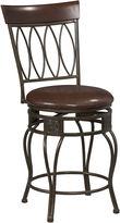 Linon Oval-Back Barstool
