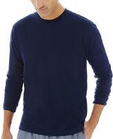 STAFFORD Stafford Knit Crewneck Sleep Shirt -Big & Tall