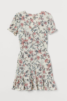 H&M Creped Dress - White