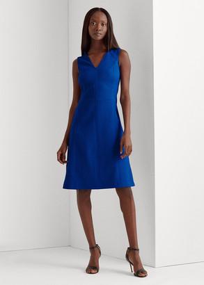 Ralph Lauren Sleeveless V-Neck Dress