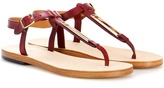 A.P.C. Madison leather sandals