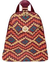 Baggallini Women's CAI865 Gold Cairo Backpack - Aztec Berry Casual Handbags
