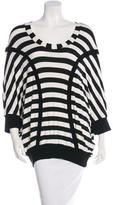 McQ by Alexander McQueen Striped Dolman Tunic