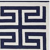 Williams-Sonoma Williams Sonoma Perennials® Greek Key Indoor/Outdoor Rug, Navy