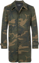 Hydrogen camouflage fitted coat