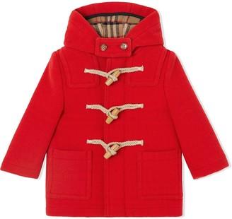 BURBERRY KIDS Duffle coat