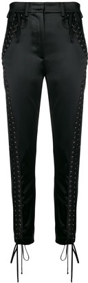 Dolce & Gabbana Lace-Up Trousers