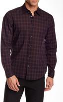 Vince Contrast Plaid Regular Fit Shirt