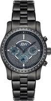 JBW Womens Diamond-Accent Black Stainless Steel Bracelet Watch J6327E