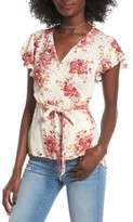 O'Neill Women's Sarah Print Wrap Top