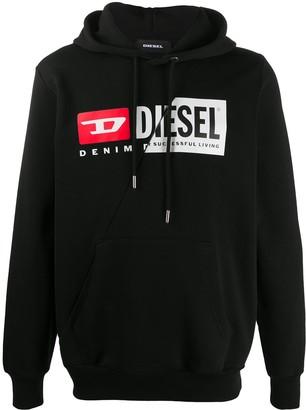 Diesel Reworked Hooded Sweatshirt